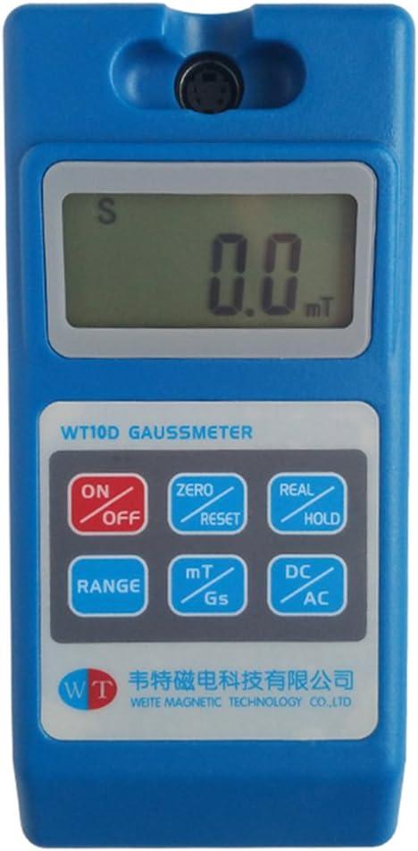 CGOLDENWALL - Medidor magnético de tesla de gauss con imán de ...