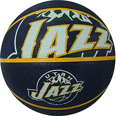NBA-CRSD-P Spalding NBA Courtside Team Outdoor Rubber Basketball