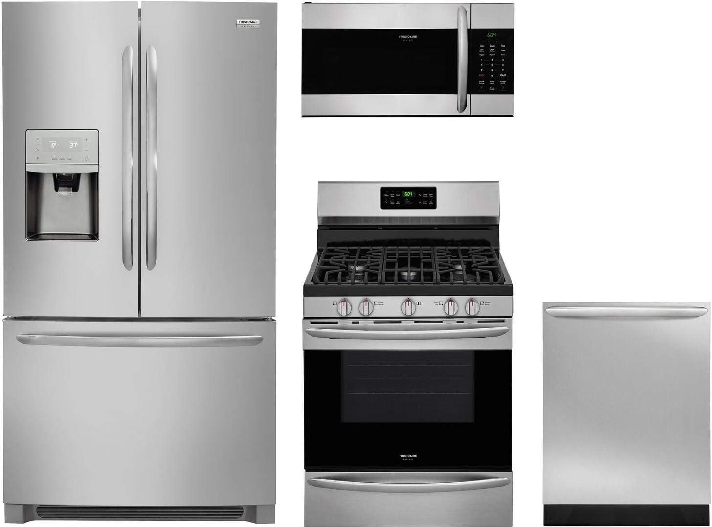 Appliances Refrigerators Frigidaire 4 Piece Kitchen Appliance ...