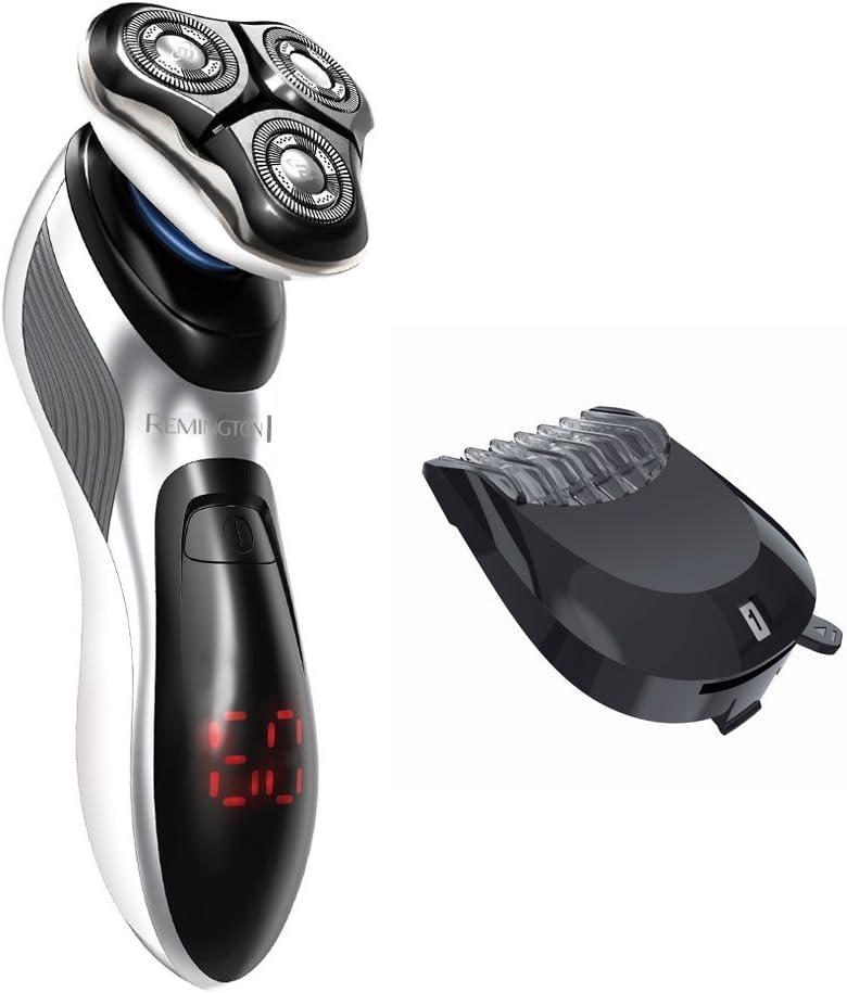 Remington XR1390 Hyperflex Verso - Afeitadora rotativa, tecnologías HyperFlex y Active Contour, peine ajustable, pantalla LED: Amazon.es: Salud y cuidado personal