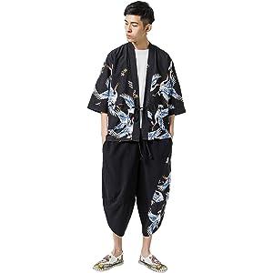 BLFGNCOB ジャージ セットアップ 上下セット メンズ 夏服 大きいサイズ 薄手 半袖ジャージ ウェストゴム ビーチ カジュアル リラックス