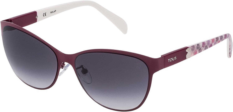 Tous STO343-580VA7 Gafas de sol, Shiny Full Bordeux, 58 para Mujer