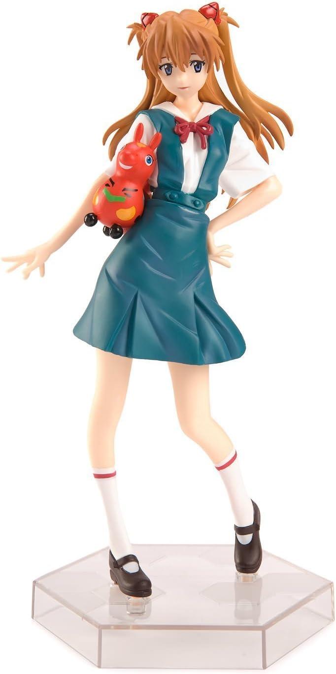 Evangelion ASUKA LANGLEY School Uniform Premium Figure SEGA JAPAN Godzilla vs
