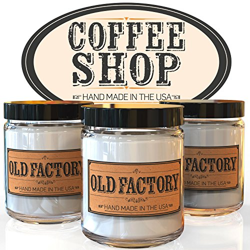 Scented Candles - Coffee Shop - Set of 3: Coffee B big image