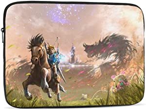 Laptop Sleeve Case - Multi Size, Legend of Zelda Tablet Briefcase Carrying Bag Ipad Case Notebook Computer Protective Bag 17 inch