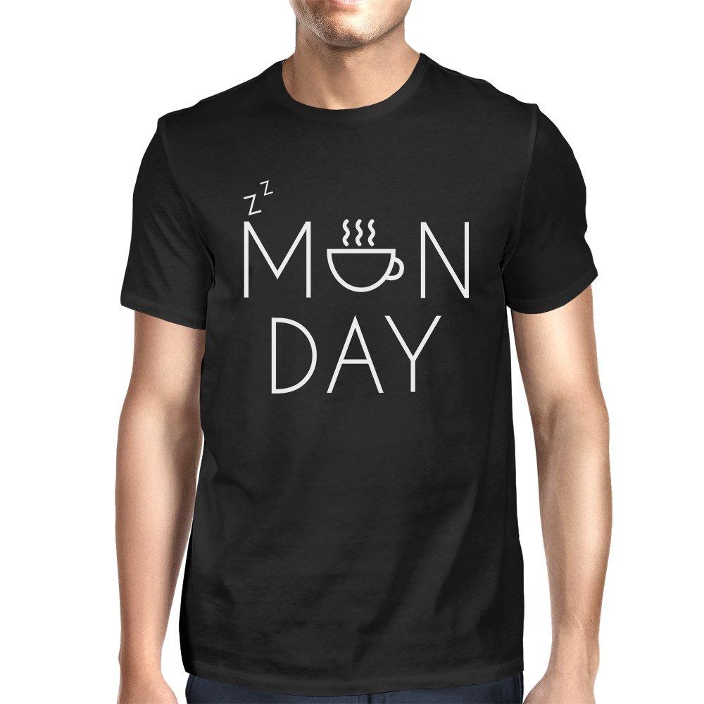 365 Printing Mujer Camiseta Divertida Negro Gráfico - Lunes ...