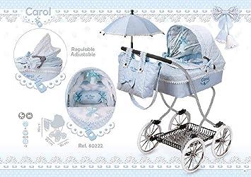 Opinión sobre Decuevas Coche Muñeca con Paraguas Carol, color azul (68080222)