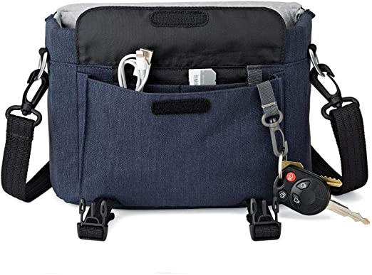 Lowepro Scout Sh 140 Kameratasche Slate Blau Kamera