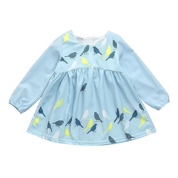 YOYOGO ✿Vestidos Bebes NiñA Tuc Mayoral Vestido para NiñAs PequeñAs De Princesa Bebé Manga Larga