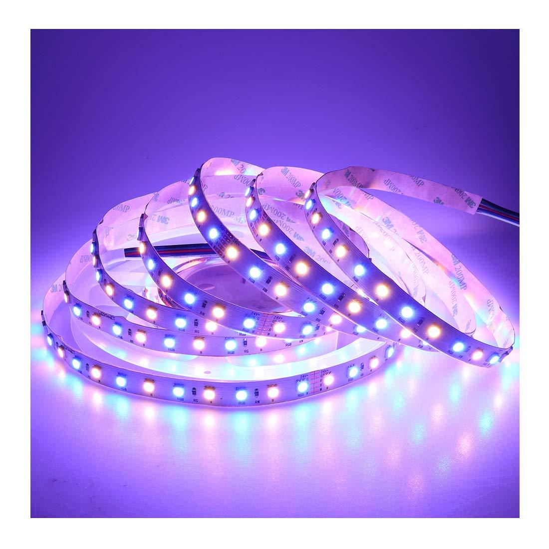 Ledenet 164ft Super Bright 5050 Smd 24v Led Light Strip Lights As Well Rgb Wiring Diagram On Warm White 360leds Flexible Rgbww Tape Ribbon Lamp Home Improvement