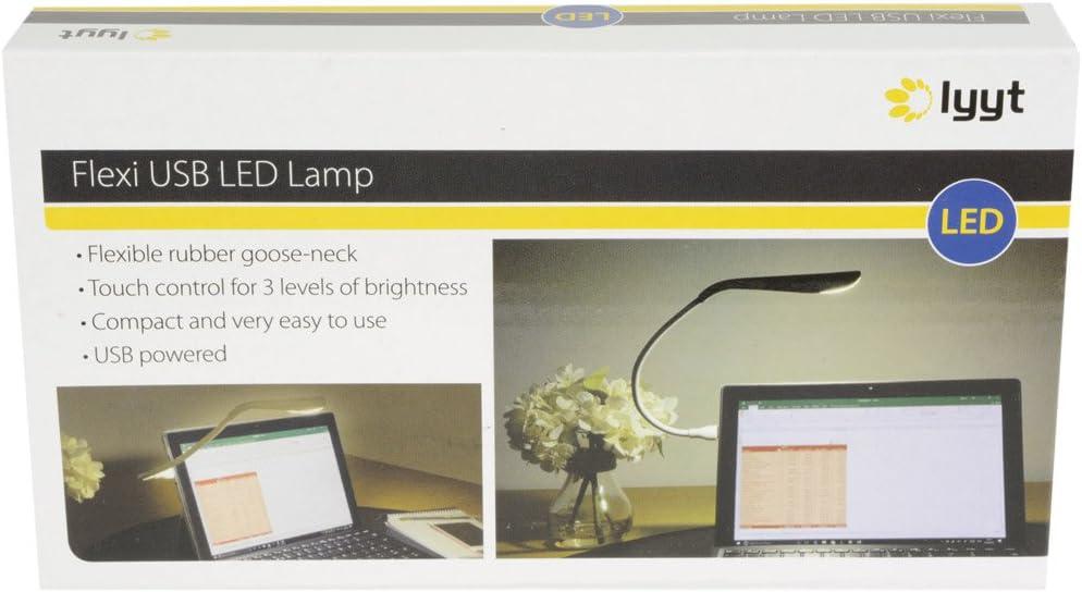 Lyyt Portable USB DEL Flexi-Lampe Noir Nouveau