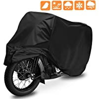 OPAMOO Funda para Moto, Cubierta de Motocicleta Impermeable Funda Protector 190T Cubierta de la Moto a Prueba de UV…
