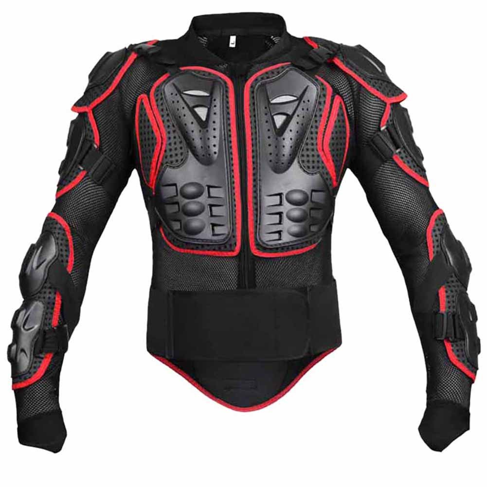 Wishwin Professional Motorcycle Armor Jacket Full Body Protective Gear Shoulder Spine Chest Cool Automotive ATV Dirt Bike Racing by  (Image #7)
