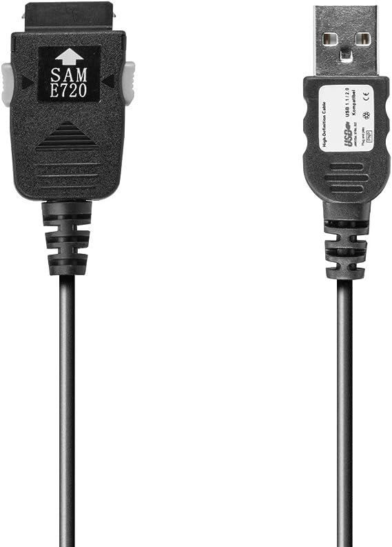 USB Cable de datos para Samsung (para pcb180) SGH-E720 E620 E720 ...