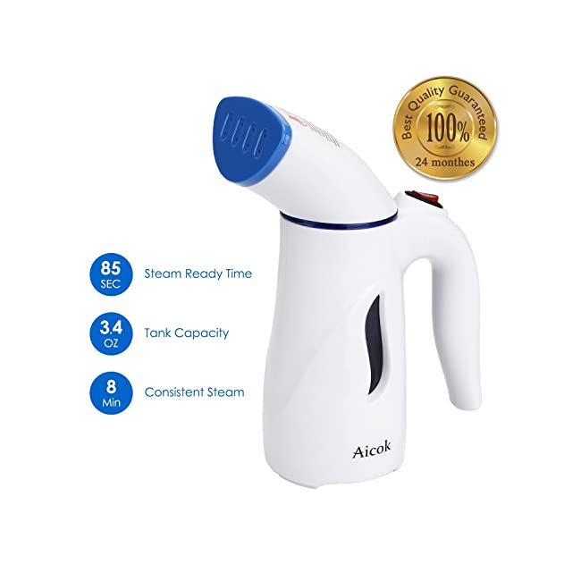 Aicok Clothes Steamer, 110ml Mini Handheld Gar...