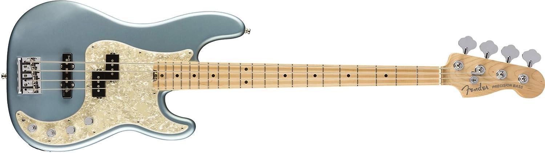 American Elite Preiciosn Bass MN Satin Ice blu Metallic