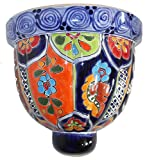 Talavera Medium Wall Planter – 8.50″ x 8″ For Sale