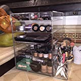 Acrylic Cosmetic Cube Organizer Makeup Case 5-Drawers A5R