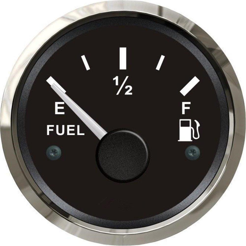 1pc Kadir Koc 52mm Fuel Level Gauges 12v/24v Fuel Level Meters Tuning Instrument Gauges with Backlight Black Shanghai Tuoche Trading Co. Ltd