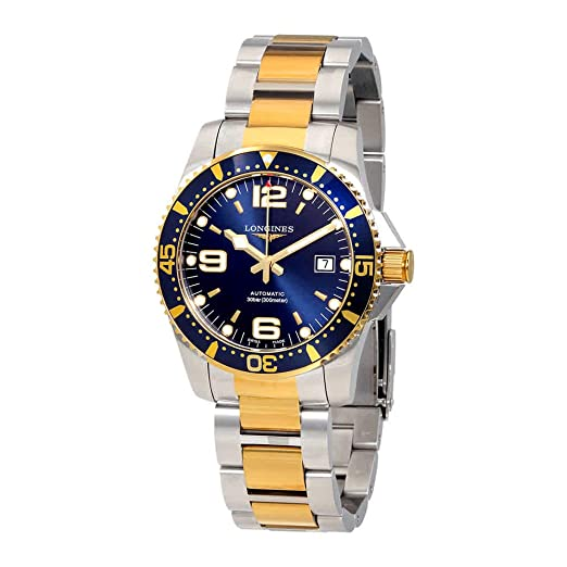 Longines HydroConquest automático Azul Dial Mens Reloj l37423967: Amazon.es: Relojes