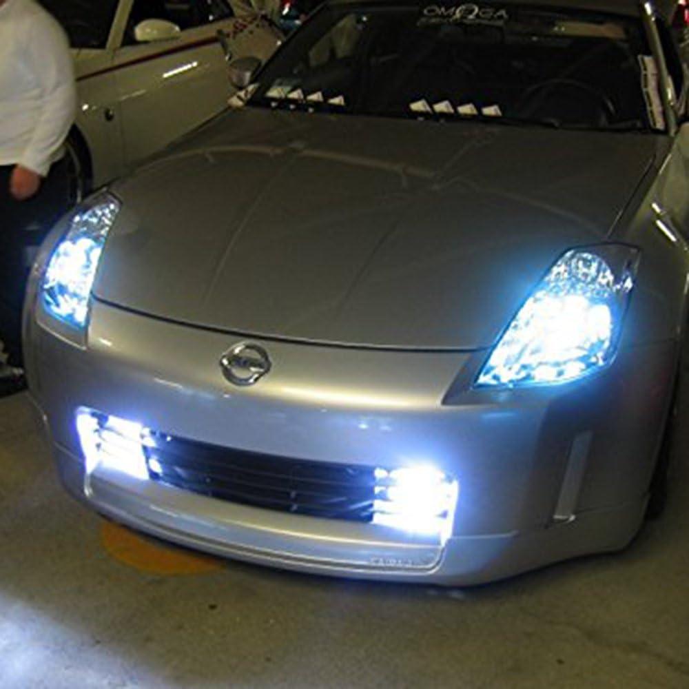 Mesllin 20SMD High Power DRL Daytime Running Driving Light Lamp White 1 Pair H1 100W LED Fog Light Bulbs