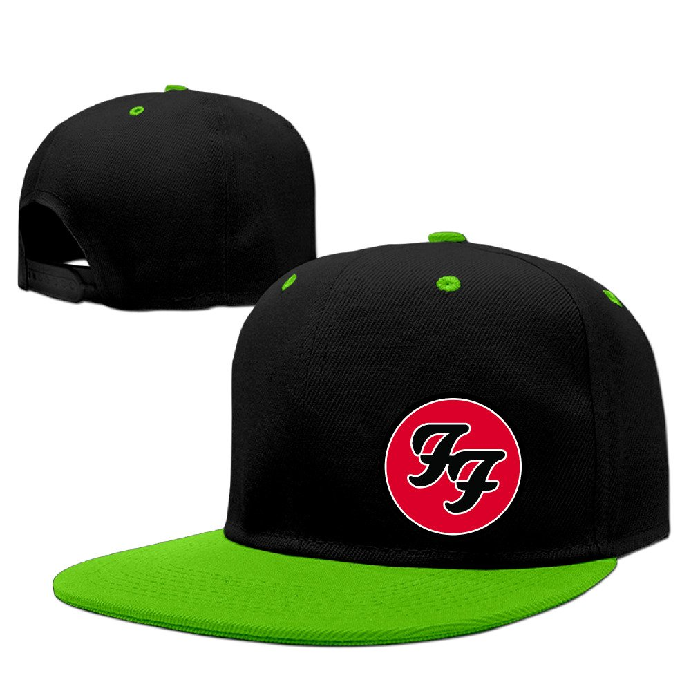ODSJKK Foo Fighters Logo Unisex Adjustable Snapback Hats Rock Punk Caps