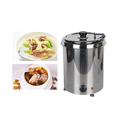 ITOPKITCHEN Itop 220 V sopa calentador eléctrico de sopa Hervidor de agua Adecuado para cafeteria/