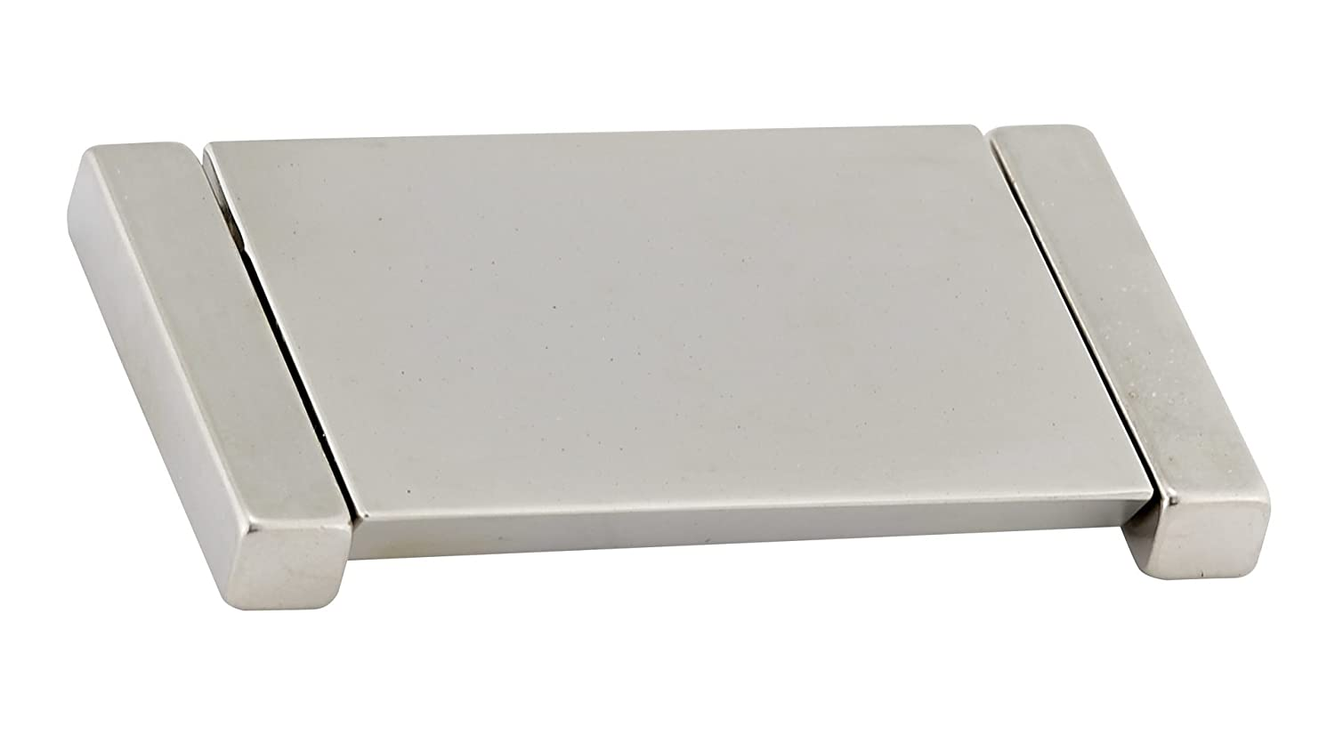 Richelieu Hardware Contemporary Recessed Metal Pull 64 Mm Bp2376064195 2376 2 17 32 In Brushed Nickel Finish Tools Home Improvement Cabinet Hardware