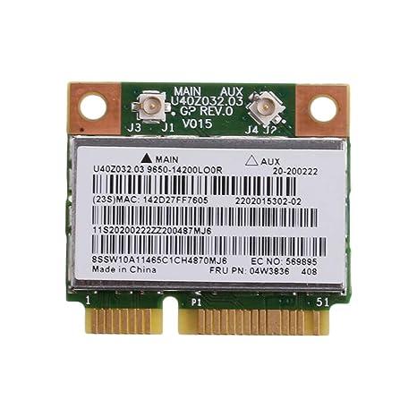 MIUSON BCM943142HM BT4.0 - Tarjeta inalámbrica WiFi para ...