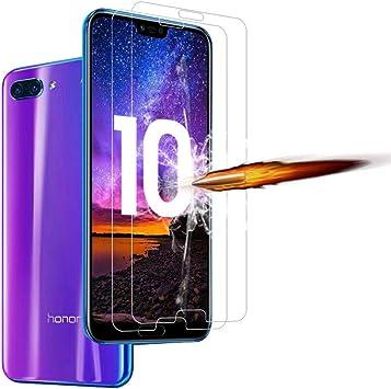 ANEWSIR [2 Pack] Huawei Honor 10 Protector de Pantalla, Honor 10 ...