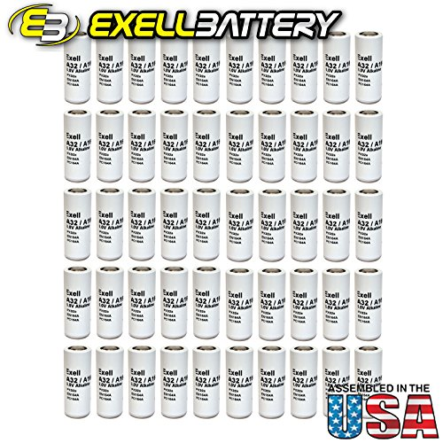 50pc Exell A32PX 6V Alkaline Battery V32PXA A32PX PX32A TR164A EN164A by Exell Battery