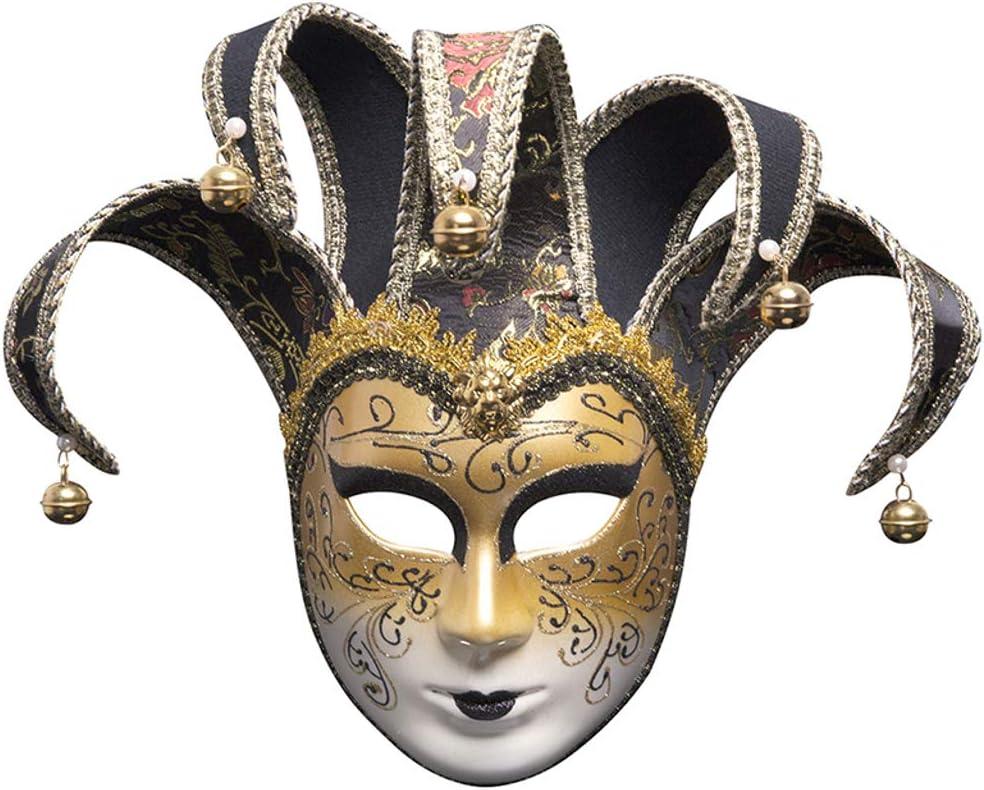YYRZGW Diseño Vintage Cara Completa Fantasma de la ópera para ...