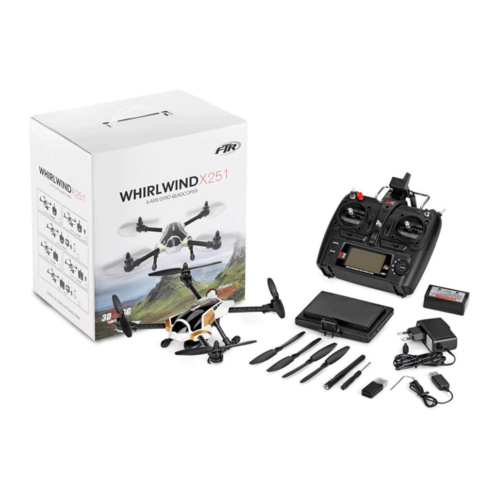 A AXJJ Brushless Drohne Quadcopter Mit FPV Quadcopter mit 140 ° FOV 720P HD Kameradrohne RTF - Höhenlage halten, EIN Schlüssel abheben Landen, 3D Flip