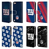 Official NFL 2017/18 New York Giants Leather Book Wallet Case Cover For iPod Touch 5th Gen/6th Gen