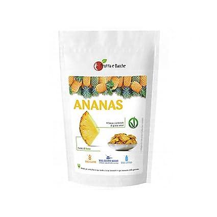 Frutas y Bayas getr Alimentos Liofilizados 100 g Piña ...