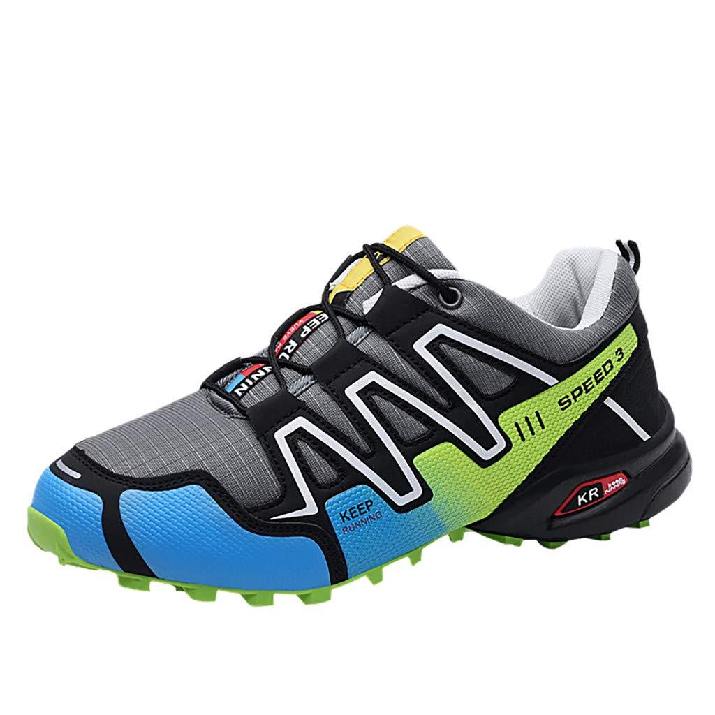 Answerl - Zapatillas de Running para Hombre, diseño de Patchwork ...