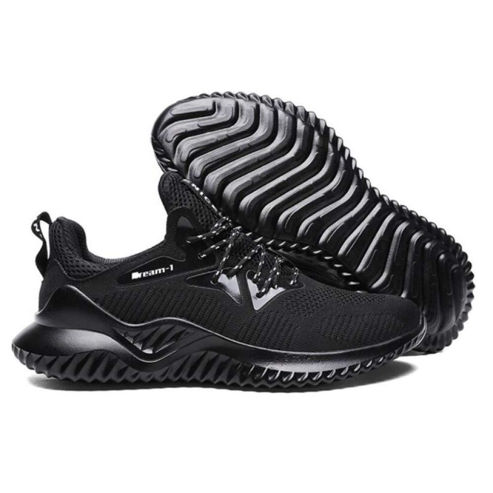 scarpe da ginnastica Uomo Scarpe da Ginnastica Ginnastica Leggera Running Running Running Scarpe Mesh Impermeabile All'aperto, nero-A-EU43 UK9 US1010.5 faecab