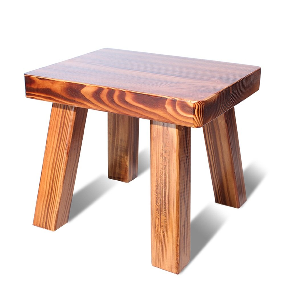 Home stool / simple and fashionable small stool / solid wood shoes stool / adult small stool ( Color : A )