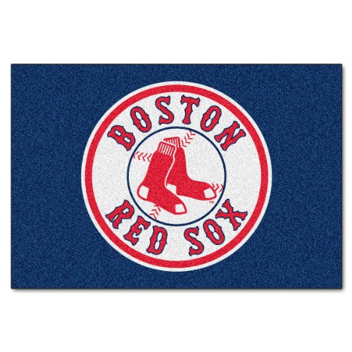 FANMATS MLB Boston Red Sox Nylon Face Starter - Starter Sox Rug