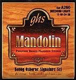 GHS Strings A260 Bobby Osborne Signature Series, Phosphor Bronze Mandolin Strings (.011-.038)