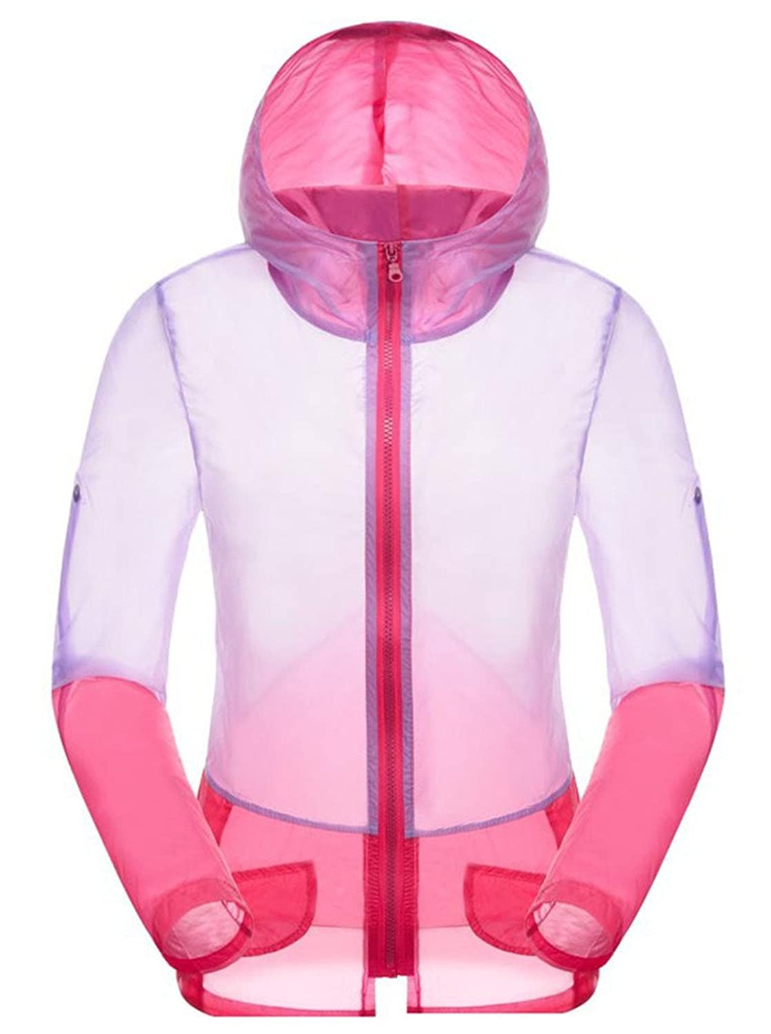 Hotly Womens Colorful Super Lightweight Jacket Windproof Skin Coat-Sun Protection