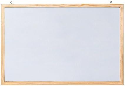 Franken CC-MM6080 E Memoboard - Pizarra blanca magnética con fijación a la pared, 80 x 60 cm