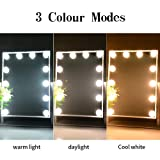 DOWRY Hollywood Vanity Makeup Mirror with 12 Led