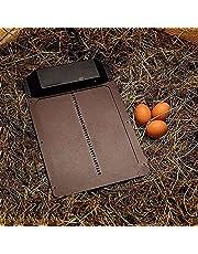 ZXZCHGN Automatische kleine kippenkippen deur, volledige aluminium deuren, licht detectie, waterdichte kippendeur, eenvoudig te installeren en gebruiken, automatische deuropener kit