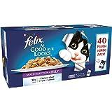 Felix Pouch As Good As It Looks Mixed 40Pk - Wet Cat Food - 100g