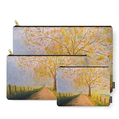 Society6 Country Road Carry-All Pouch Set of 3