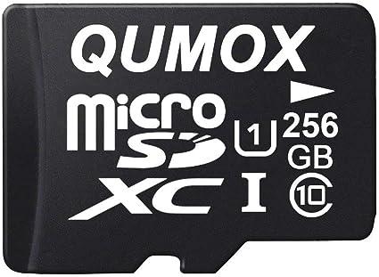 Qumox 256gb Micro Sd Memory Card Class 10 Uhs I 256 Gb Computer Zubehör