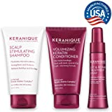 Keranique 30 Day Lift & Repair Kit | Shampoo, Conditioner, and Lift & Repair