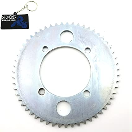 stoneder 54 mm 25H trasero de acero 55 dientes piñón para cadena para 47 cc 49