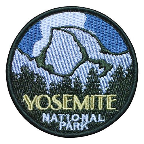 Yosemite National Park Half Dome Patch (Iron (Cape National Parks)